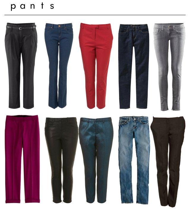 بناطيل جينز زارا Trousers Zara